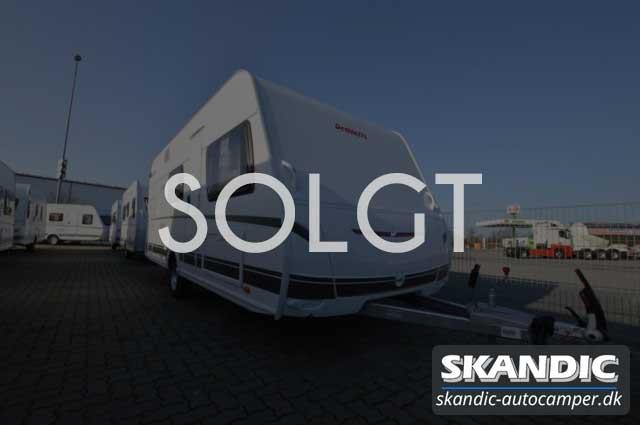 Solgt - Dethleffs c-go 495 QSK Touring Pakke