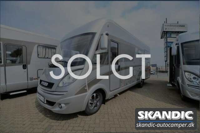 Solgt | Hymer Duomobil 634 (2018)